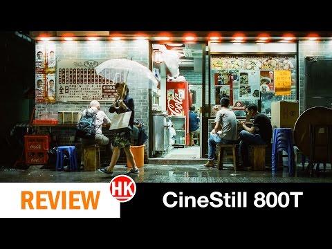 Film Review: CineStill 800T