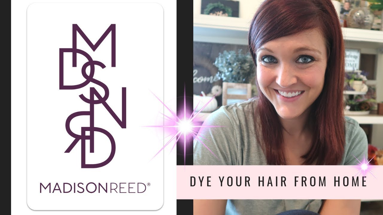 Madison Reed Hair Color | Dye your own hair at home - YouTube