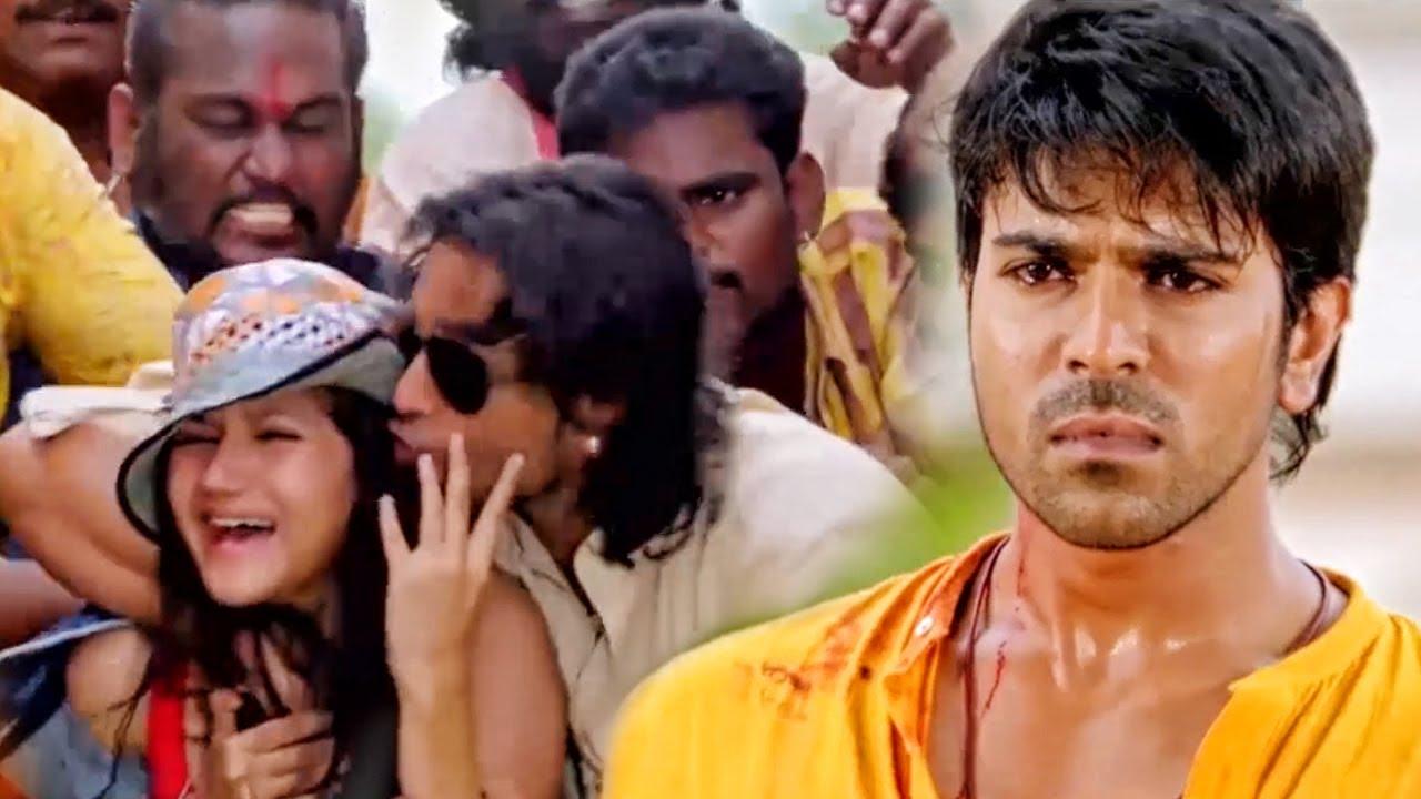 राम चरण को किसी ने धोखे से मारा और उसकी बहन को कुछ गुंडों ने किडनैप कर लिया