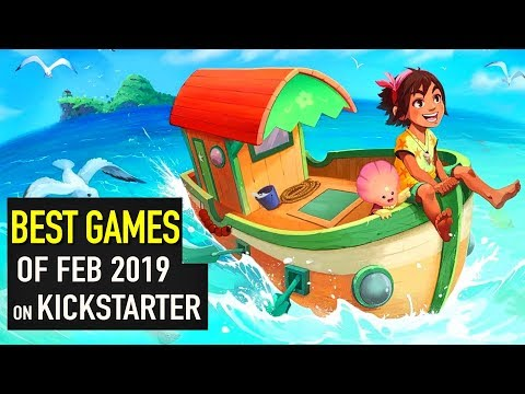 Top 5 NEW Games On KickStarter Of February 2019