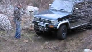 land rover off road