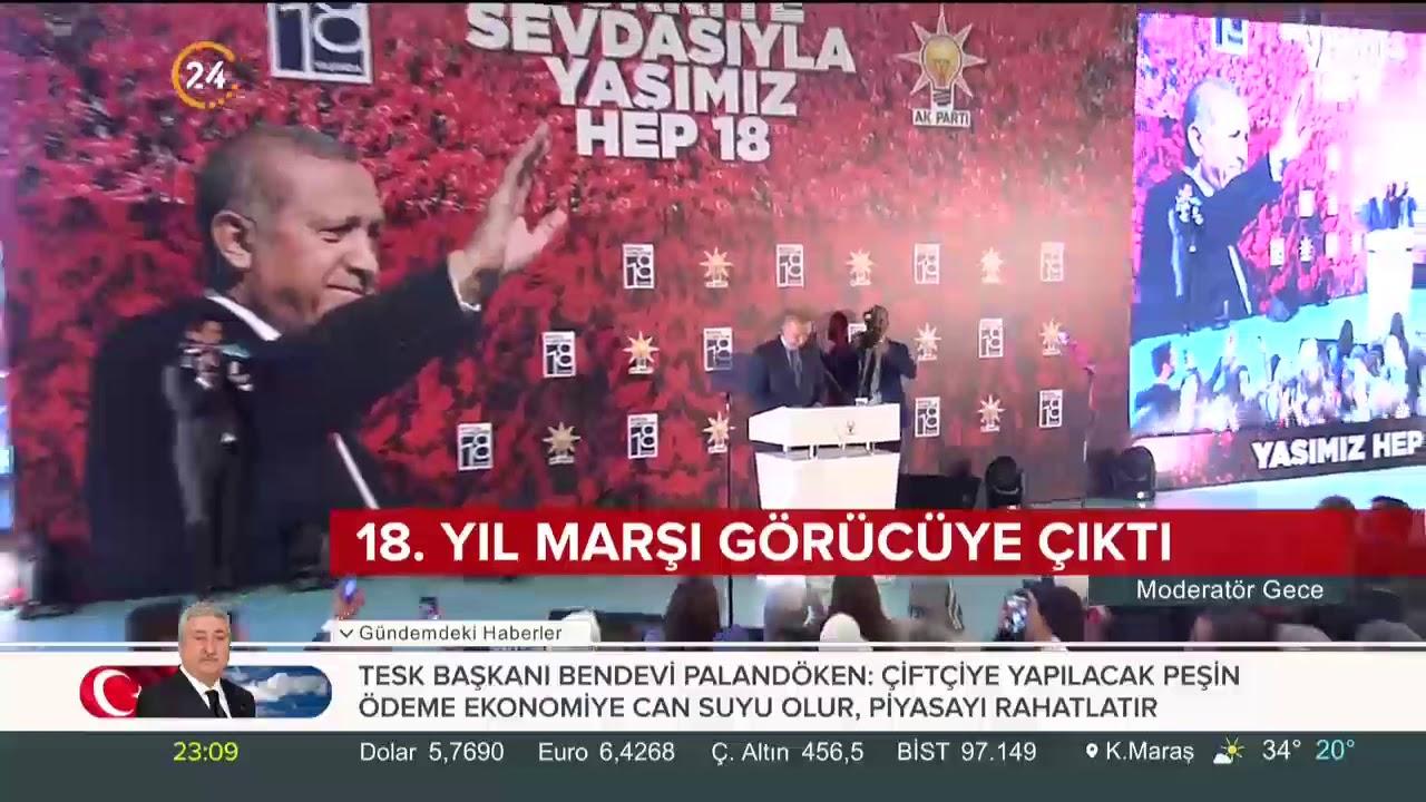 Cumhurbaşkanı Erdoğan'dan AK Parti'nin 18. yılında teşkilata mesajlar