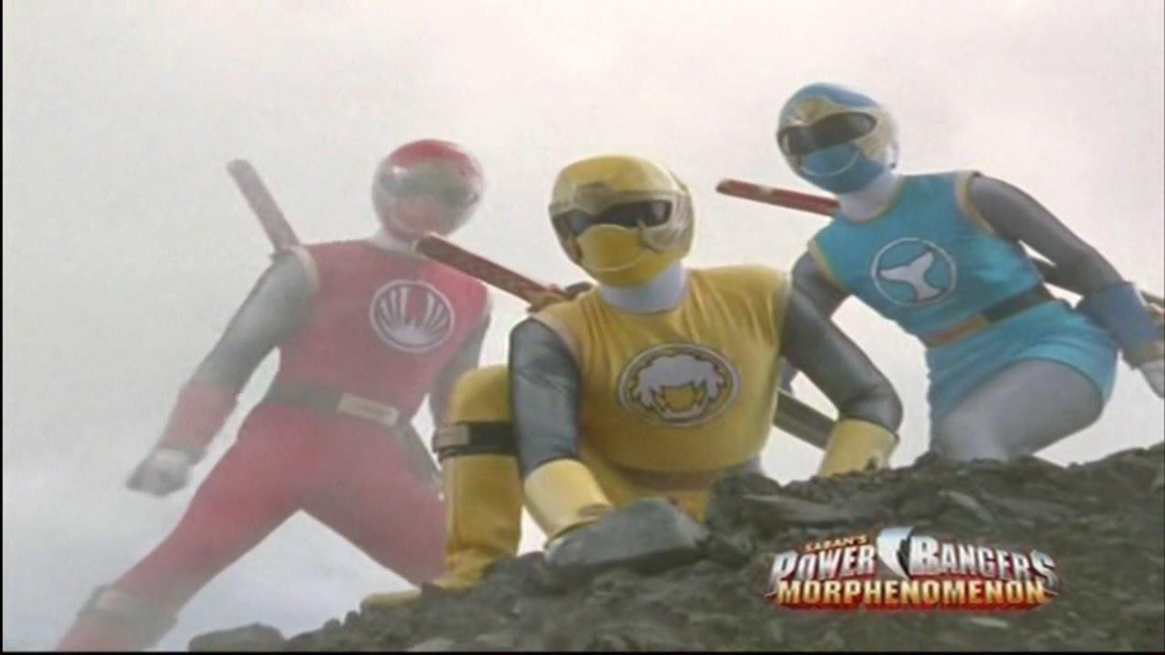Power Rangers Ninja Storm - Power Rangers vs Terramole   Episode 4