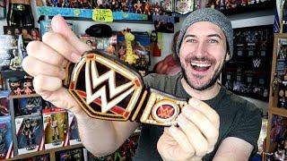 Gummy WWE Championship Title Taste Test!!!
