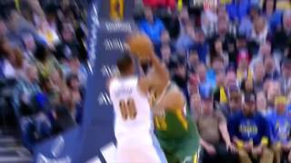 Jamal Murray Great Lay Up Jazz@Nuggets January 24, 2017