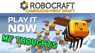Robocraft - My thoughts on Campaign Mode