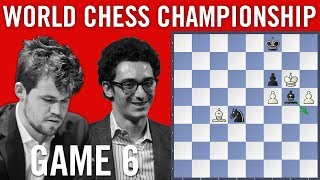 World Chess Championship 2018 Game 6: Magnus Carlsen vs Fabiano Caruana