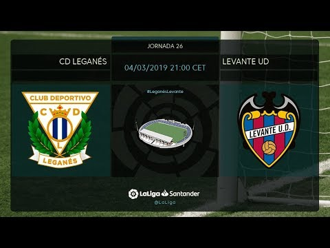 Calentamiento CD Leganés vs Levante UD