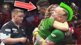 Lächerliche Niederlage gegen Peter Wright | Promi Darts Reaktion #1