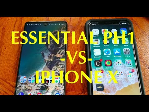 Youtube Essential Vs Iphone X