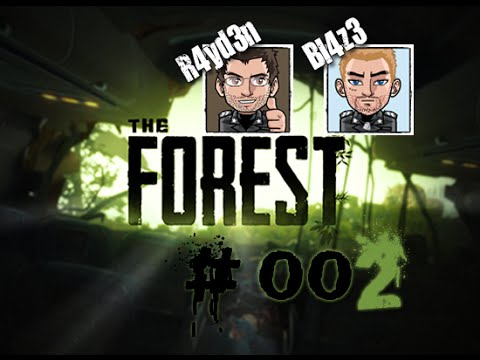 "THE FOREST #002 ""Angriff der Mutanten!"" ☠HORROR / SURVIVAL☠ LETS PLAY MULTIPLAYER / KOOP #1"