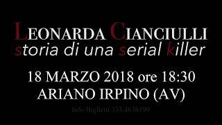 Stagione Teatrale 2017/2018 - Tris d'Arte presenta Leonarda Cianciulli: storia di una serial killer