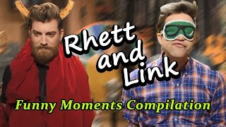 Some Funny Moments of Rhett and Link - GMM Funny Compilations