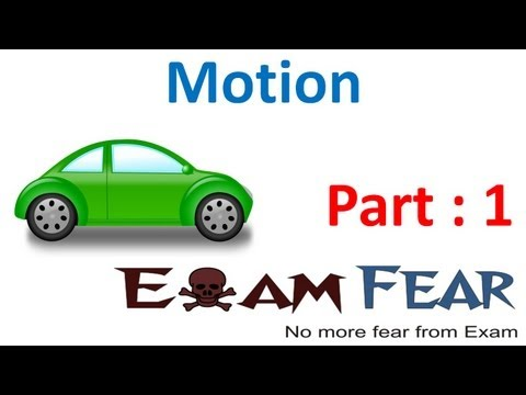 Download Youtube: Physics Motion part 1 (Introduction Rectilinear & circular motion) CBSE class 9 IX