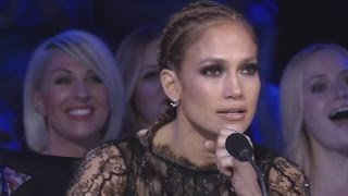 Watch 'American Idol' Judge Jennifer Lopez Get 'Goosies' After Contestant Slays Celine Dion Cover