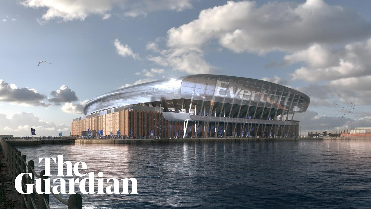 Everton unveil plans for £500m new stadium in Liverpool