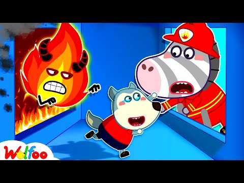 Fire Safety With Wolfoo - Learn Safety Tips for Kids | Wolfoo Family Kids Cartoon