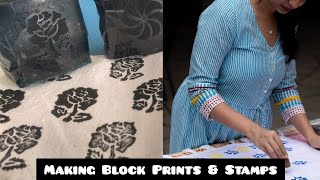 make fine block prints at home fast and easy
