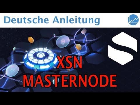 XSN Masternode Anleitung