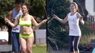 Похудение ДО и После. История  Клэр Насир.  В 40 лет Минус 15 кг  за 5 недель