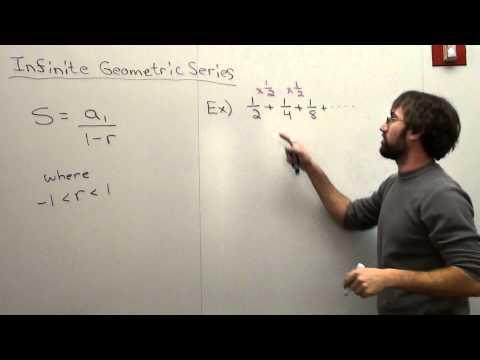 Free Math Lessons Infinite Geometric Series