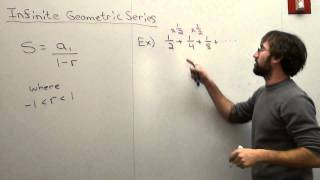Free Math Lessons Infinite Geometric Series