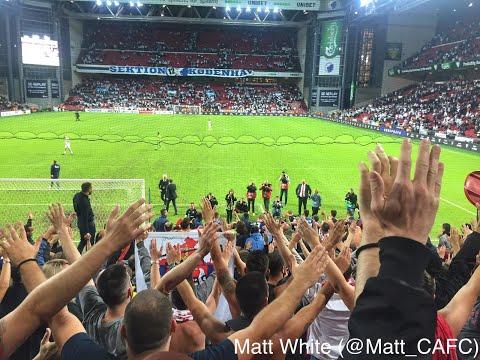 FC København Vs FK Crvena Zvezda Including Delije U Kopenhagen Corteo (Delije In Denmark)