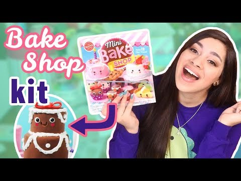 Testing Scholastic's  Mini Bake Shop (Clay Kit)