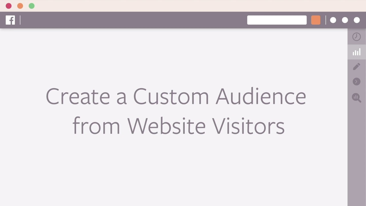 How to Create a Custom Audience from Website Visits in Facebook Ads Manager