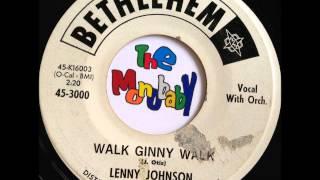 lenny johnson walk ginny walk