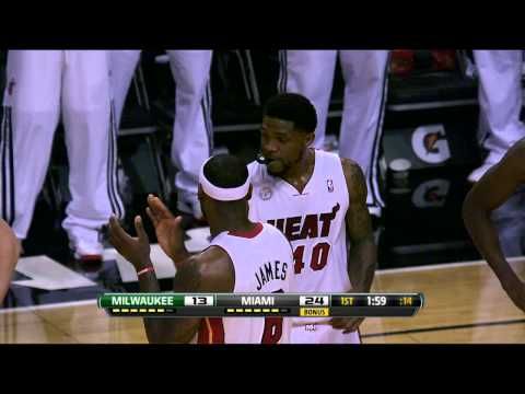 Haslem becomes Heat All-Time Rebounder!