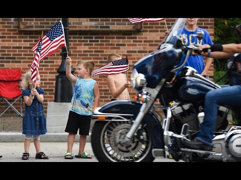 2015 American Legion Legacy Run - Day 1