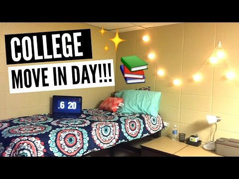 College Move In Day 2016 Vlog!