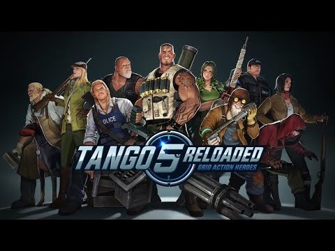 NOVO MOBA TÁTICO! | Tango 5 Reloaded: Grid Action Heroes [T5R]