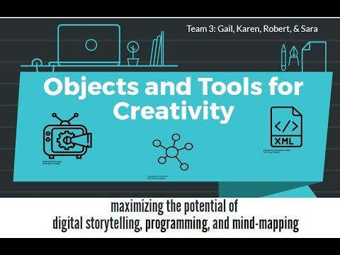 Objects + Tools for Creativity