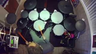 Hurts So Good - John Cougar Mellencamp - V-Drum Cover - TD20x - Drumless Track - Drumdog69
