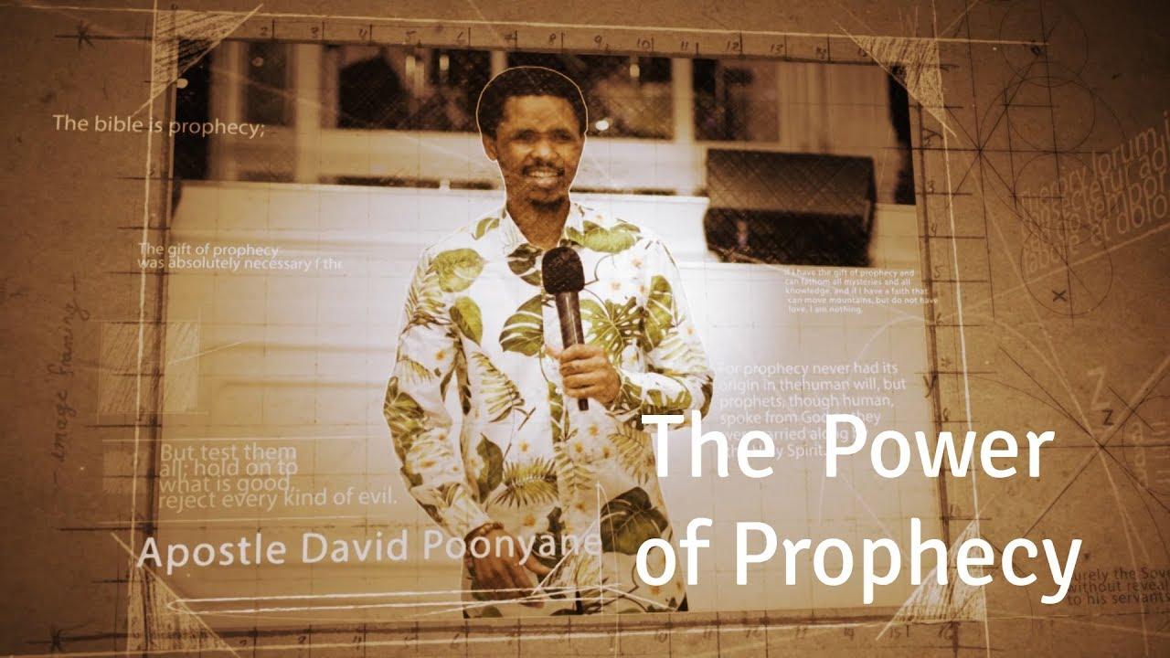 The Power of Prophecy | Apostle David Poonyane