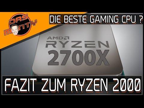 AMD Ryzen 2000 - 2700X/2600X   Das Fazit   Ist es die beste Gamer-CPU ?   Das Monty - Deutsch