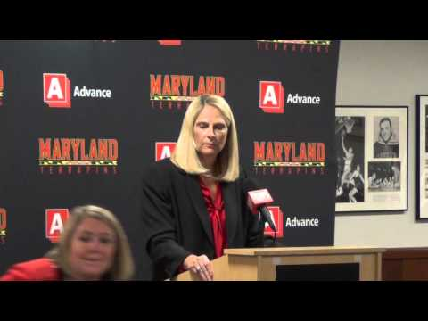 Brenda Frese Press Conf Basketball Media Day 2015