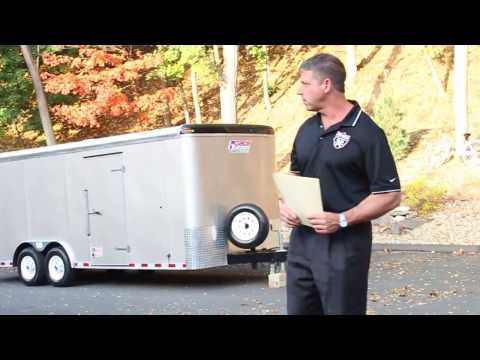 Pace American 20' Utility Trailer