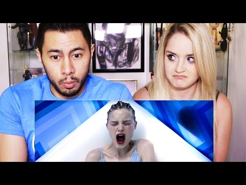 THE NEON DEMON trailer reaction review by Jaby & Alyson!