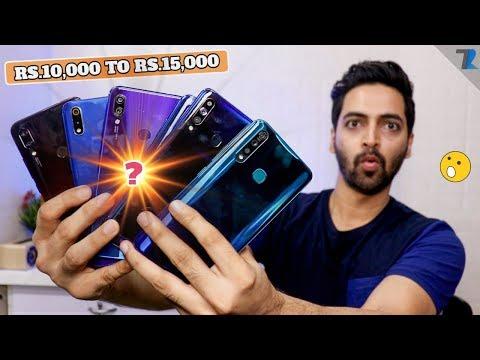 Top Smartphones To Buy Between 10,000 To 15,000 [JULY 2019]