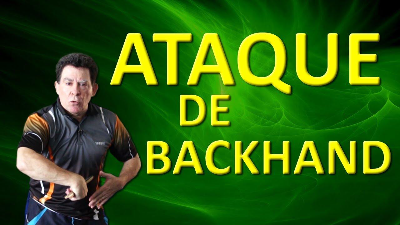 51637a865872c Ataque de Backhand Próximo da Mesa (HD 1080p) - YouTube