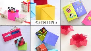 6 Easy Paper Crafts | Craft Ideas | Ventuno Art