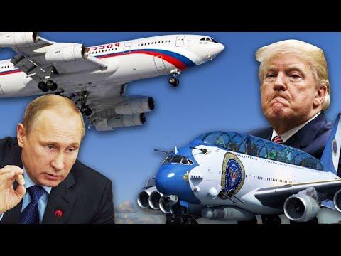 Сравниваем самолеты Путина