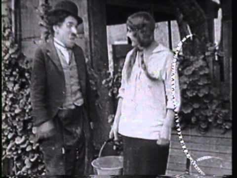 THE TRAMP (1915) -- Charlie Chaplin, Edna Purviance