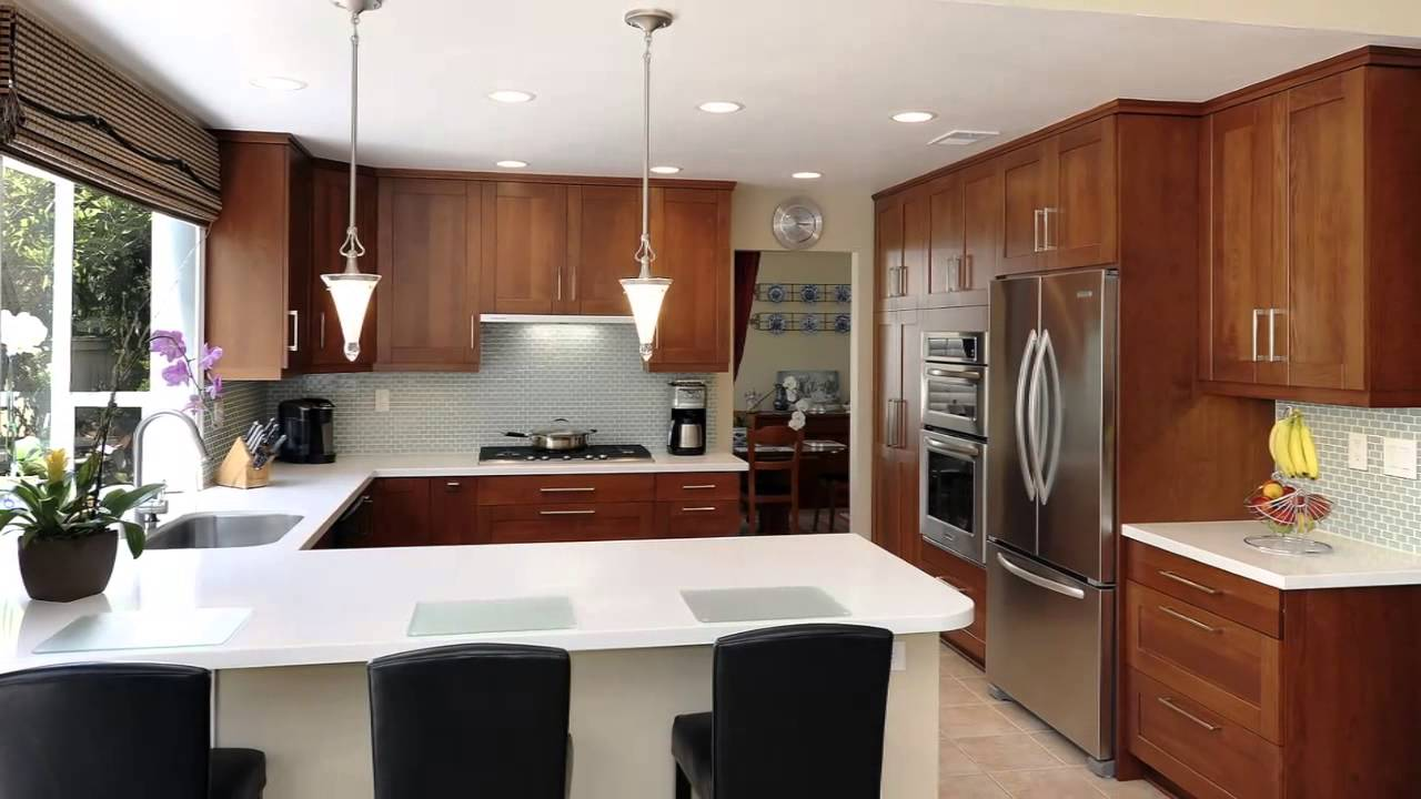 Cocina con desayunador youtube for Barras modernas para living