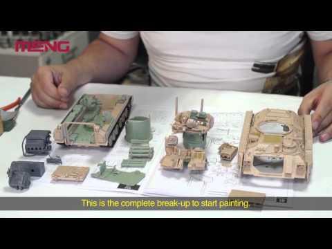 MENG SS-006 1/35 M3A3 Bradley w/Busk III & SPS-017 M3A3 Bradley w/Busk III Interior Set