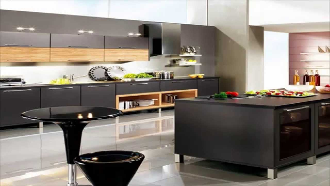 cuisines modernes youtube. Black Bedroom Furniture Sets. Home Design Ideas