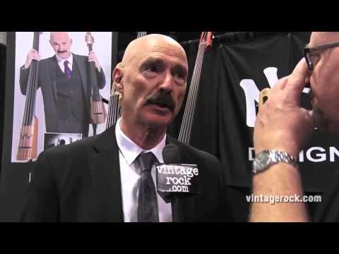 2015 NAMM Show: Tony Levin (King Crimson, Peter Gabriel) Interview